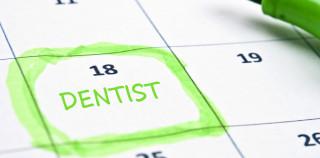 Calendar mark  with Dentist