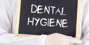 Doctor Shows Information: Dental Hygiene