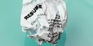 Resume Crumpled