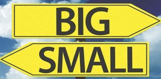 Smaller is better