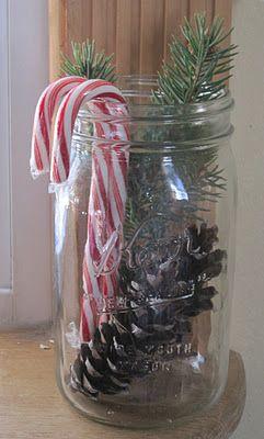 candycanes in jar
